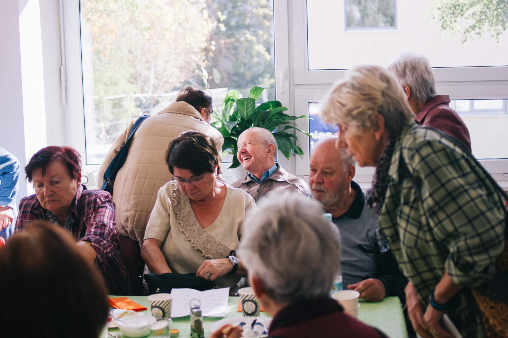 Kieztreff rentner senioren