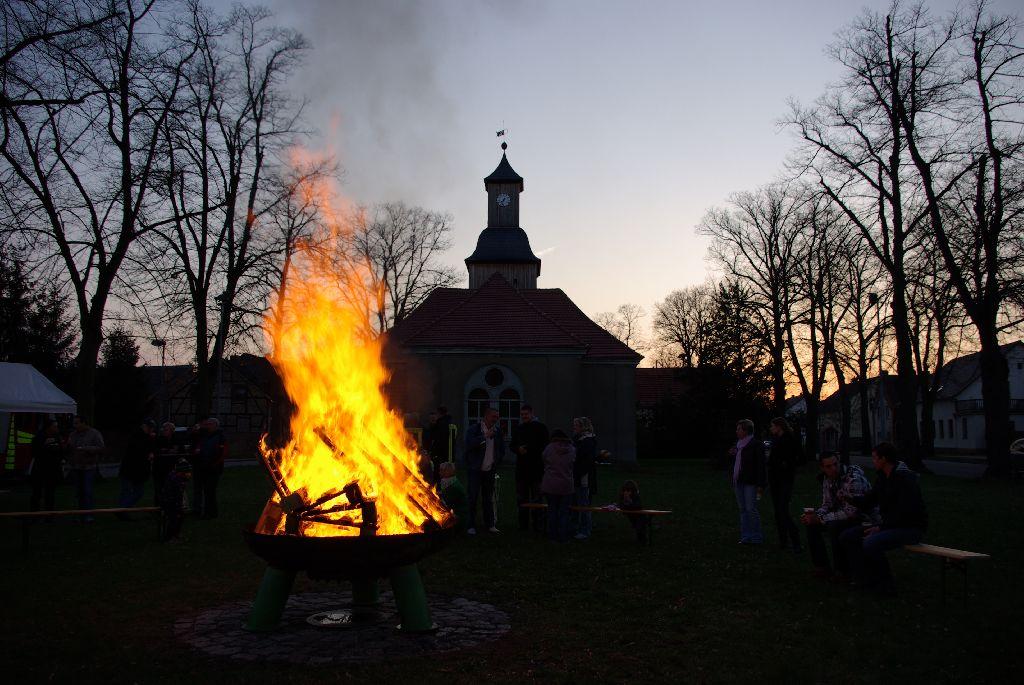 Veranstaltung Osterfeuer in Groß Schulzendorf
