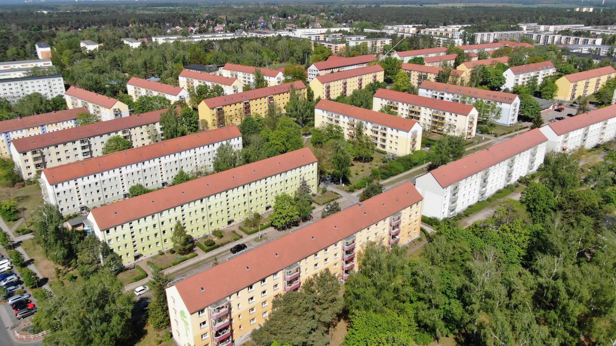 Luftbild Ludwigsfelde West