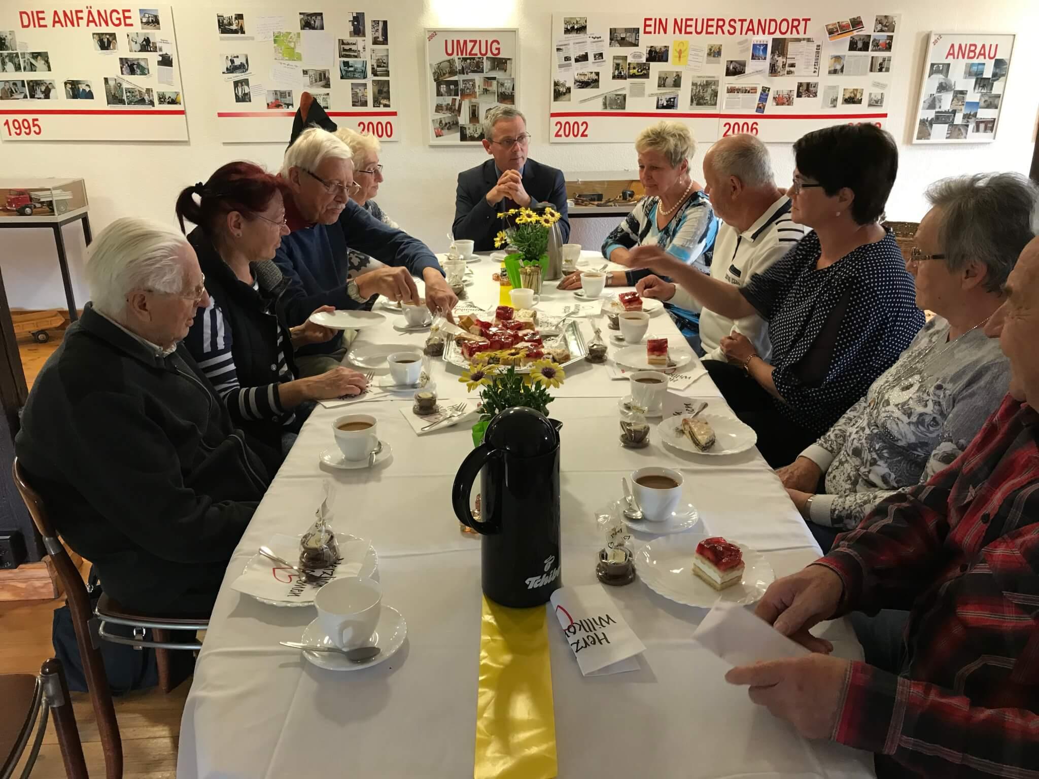 Museumskaffee Bürgermeister Igel