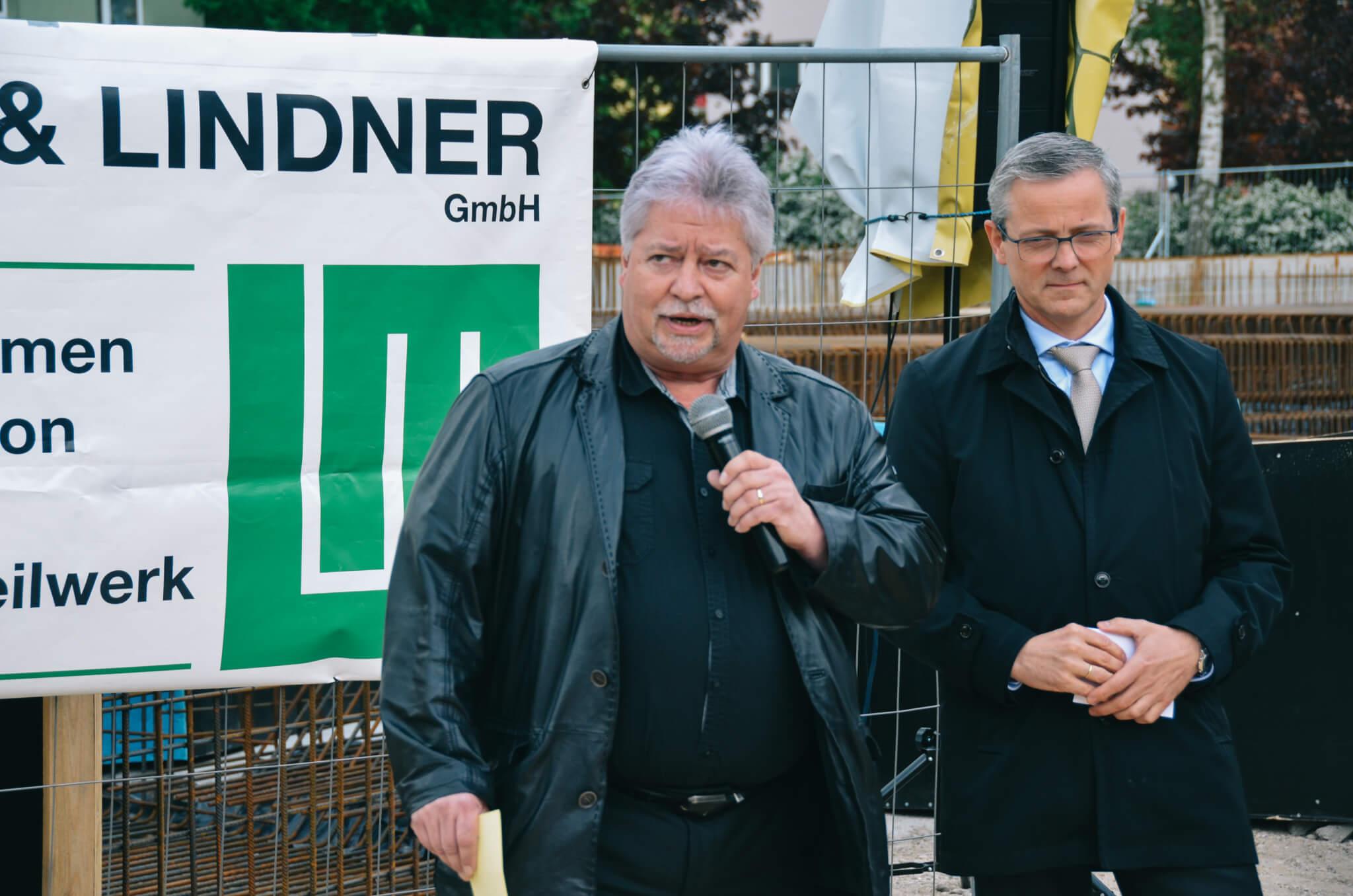Schröter Grundsteinlegung Märkische Heimat