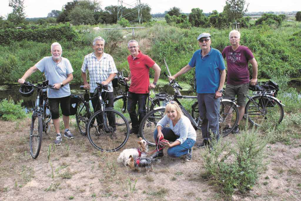 Fahrradtour Igel und Barthel Großbeeren