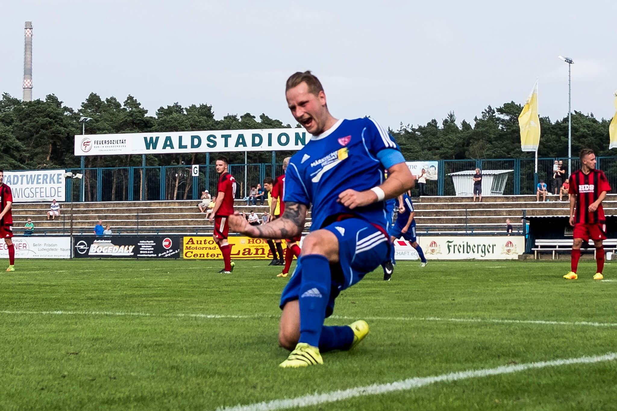 26.8.2017 - Brandenburgliga - Ludwigsfelder FC - RSV Waltersdorf 1909