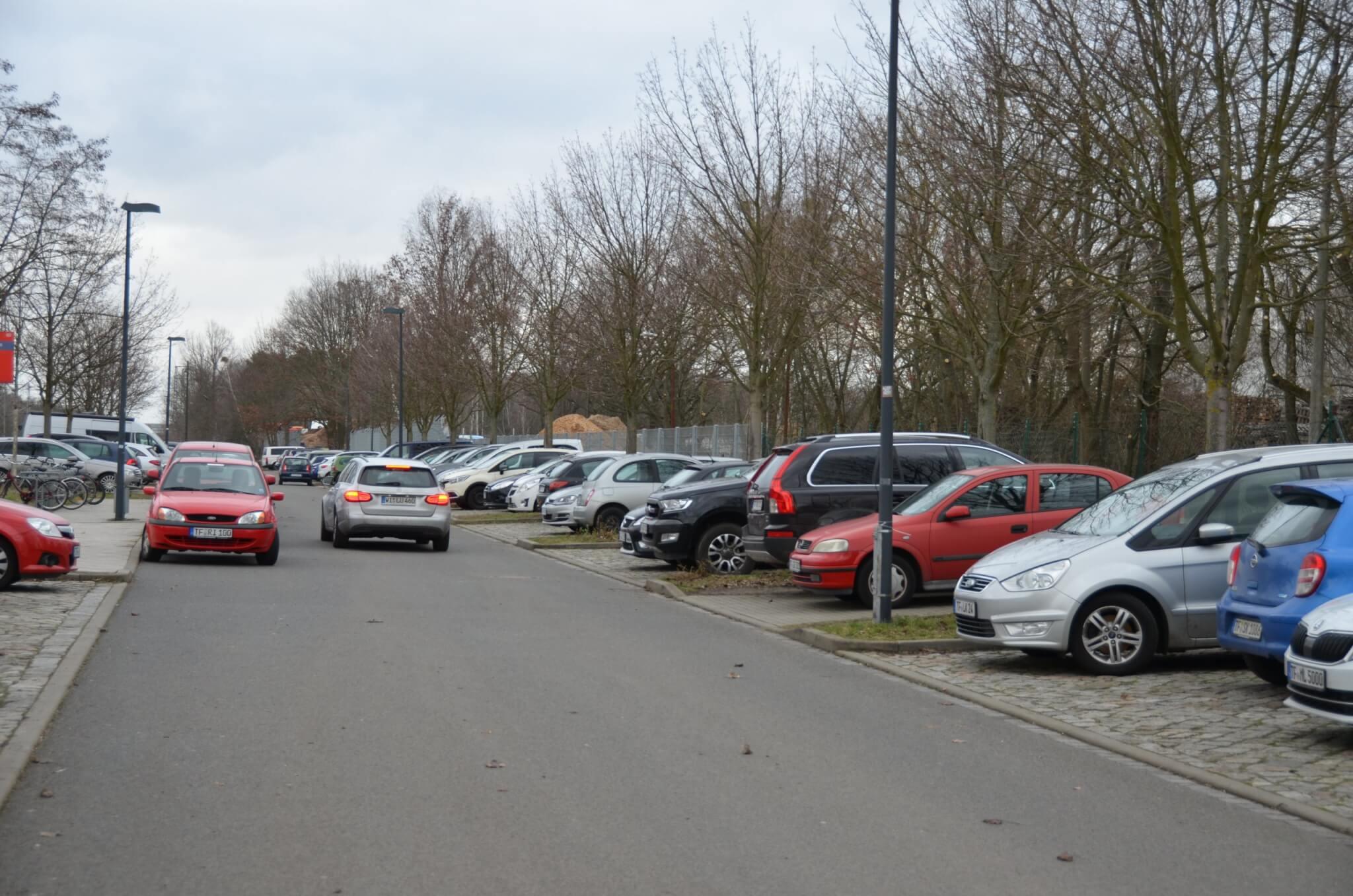 Parkplätze Bahnhof ludwigsfelde