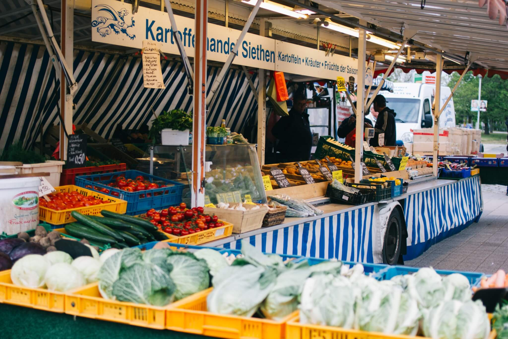 Wochenmarkt Ludwigsfelde