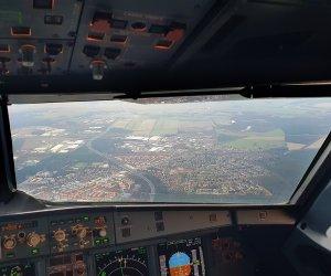 Flugzeug Luftaufnahme Ludwigsfelde
