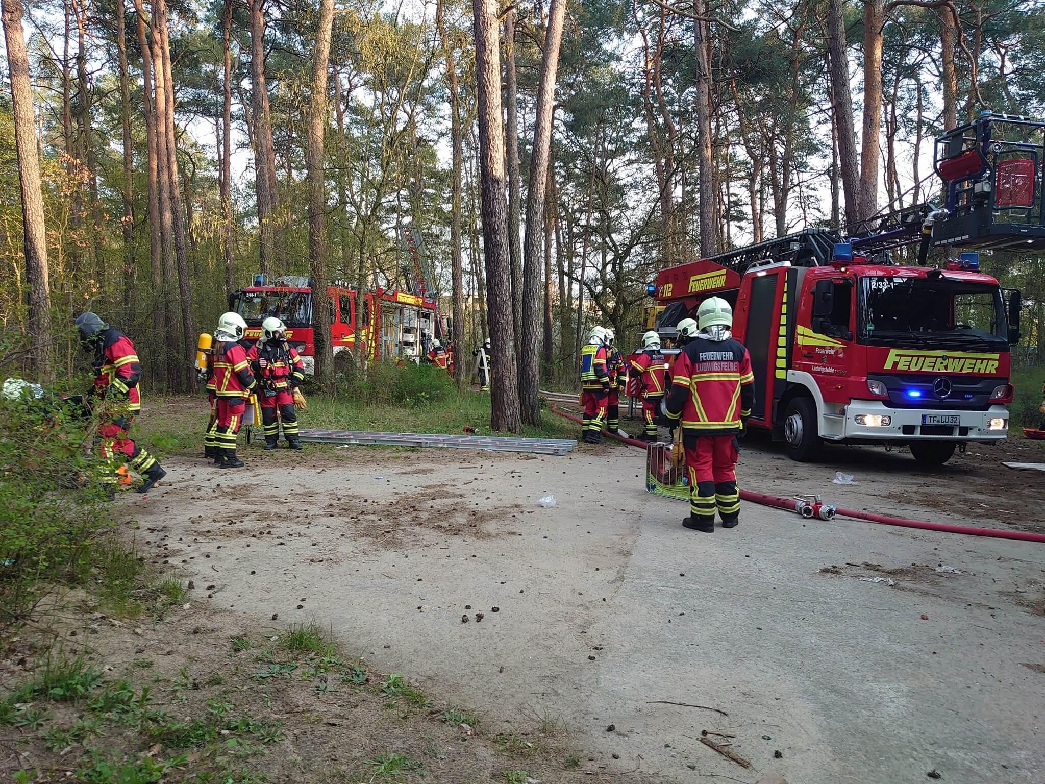 Waldhalle Feuerwehr